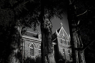 Poster featuring the photograph Belmont Abbey by Jessica Brawley