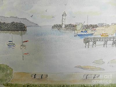 Belmore Basin In Wollongong Poster