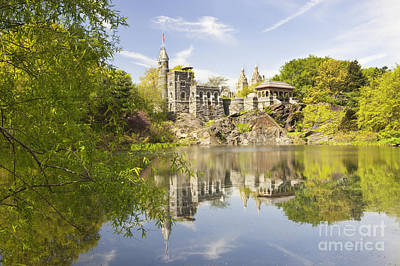 Belvedere Castle In Central Park Poster by Bryan Mullennix