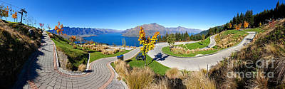 Ben Lomond Scenic Reserve New Zealand Poster