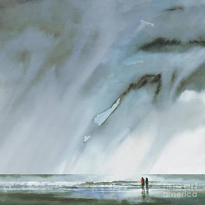 Beneath Turbulent Skies Poster