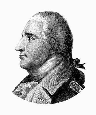 Benedict Arnold - Black And White Poster by War Is Hell Store