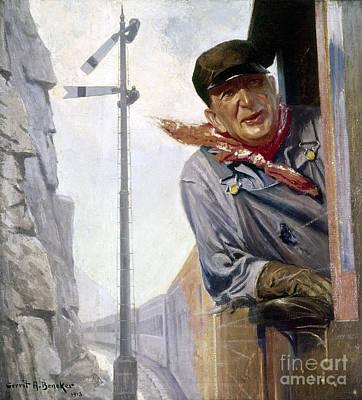 Beneker: The Engineer, 1913 Poster