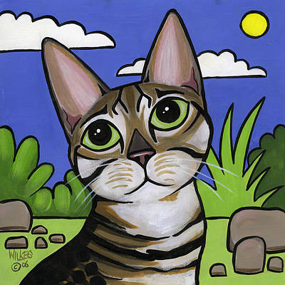 Bengal Beauty Poster by Leanne Wilkes