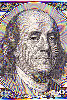 Benjamin Franklin Poster by Les Cunliffe