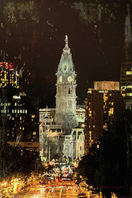 Benjamin Franklin Parkway Poster by Marvin Spates