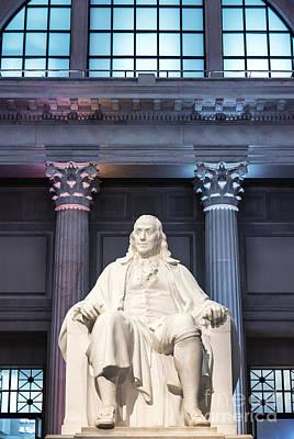 Benjamin Franklin Statue Poster by John Greim
