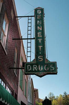 Bennett's Drugs Poster