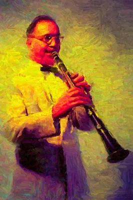 Benny Goodman Poster by Caito Junqueira
