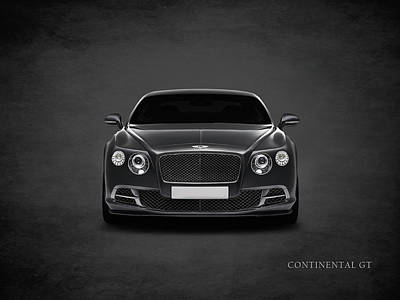 Bentley Continental Gt Poster by Mark Rogan