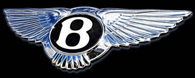 Bentley Poster by Ricky Barnard