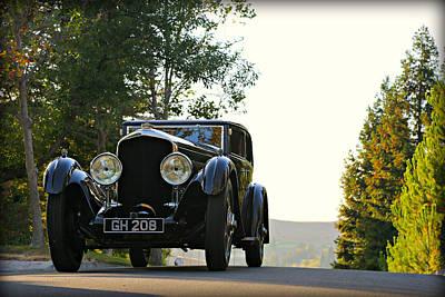 Bentley Speed 6 Corsica Poster