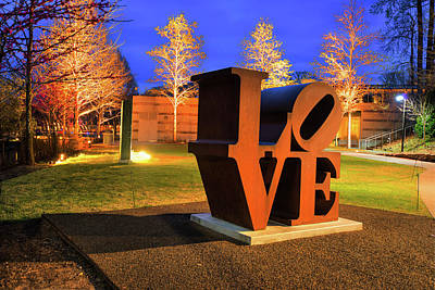 Bentonville Love - Crystal Bridges Art Museum Poster