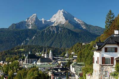 Berchtesgaden Poster by Brian Jannsen