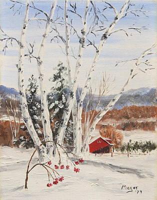 Berkshire Winter II Poster