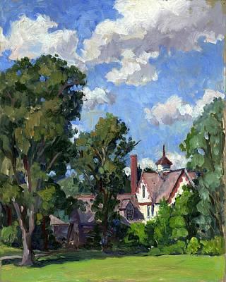 Berkshires Cottage Poster