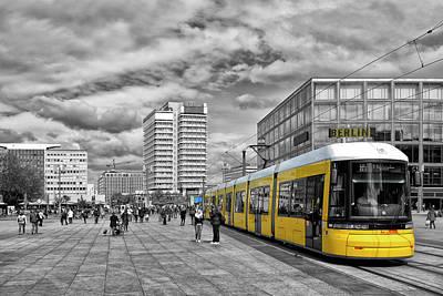 Berlin Alexanderplatz Edition Poster by Joachim G Pinkawa