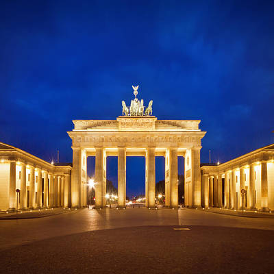 Berlin Brandenburg Gate Poster by Melanie Viola