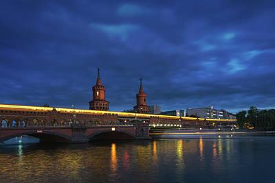 Berlin Bridge Poster