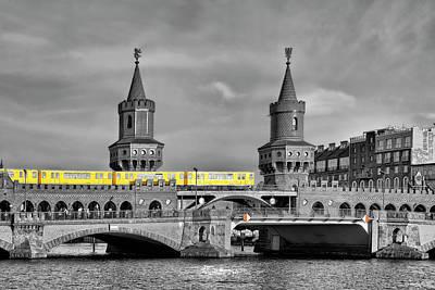 Berlin Impressions IIi Poster by Joachim G Pinkawa