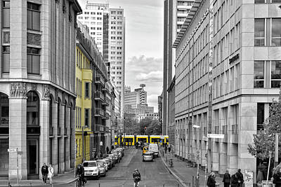 Berlin Impressions Iv Poster by Joachim G Pinkawa