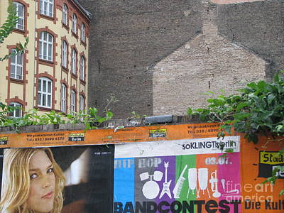 Poster featuring the photograph Berlin New And Old by Erik Falkensteen