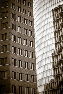 Berlin Potsdamer Platz Architecture Poster by Frank Tschakert