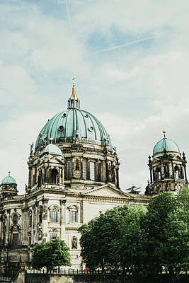 Berliner Dom Poster by Pati Photography