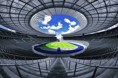 Berlin's Olympic Stadium Poster by 3093594