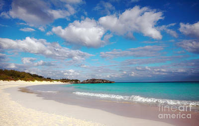 Bermuda Beach Poster by Charline Xia