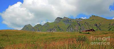 Bernese Alps Switzerland Mountain Landscape Poster