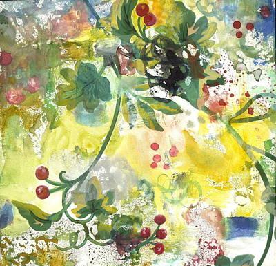 Berries Poster by Gloria Von Sperling