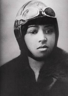 Bessie Coleman 1892-1926, Was An Early Poster