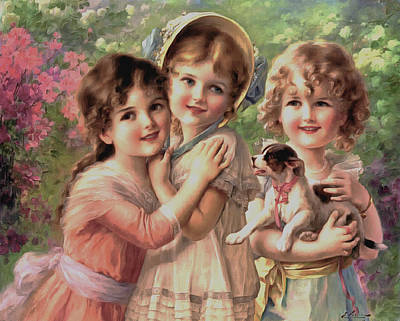 Best Of Friends Poster by Emile Vernon