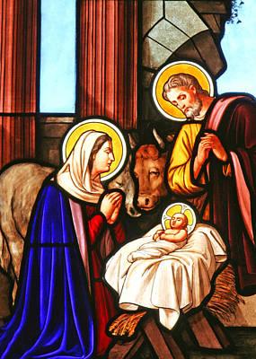 Bethlehem Nativity Scene Poster