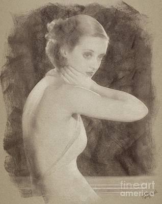 Bette Davis, Hollywood Actress Poster