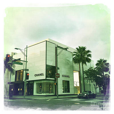 Beverly Hills Rodeo Drive 13 Poster by Nina Prommer