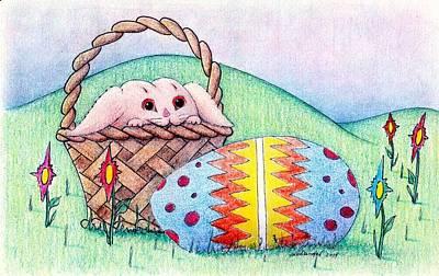 Bewildered Bunny Poster