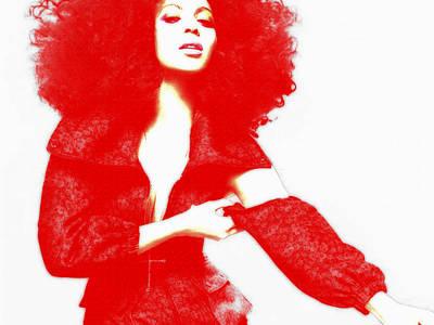 Beyonce 4f Poster