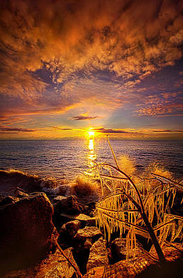 Beyond The Grid Poster by Phil Koch