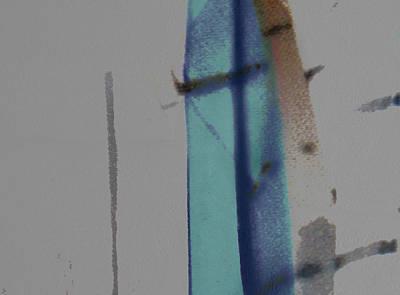 Poster featuring the digital art Beyond The Veil by Ken Walker