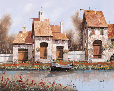 Bianca Poster by Guido Borelli