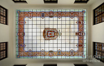Bibataubin Palace Roof In Granada Spain Poster by