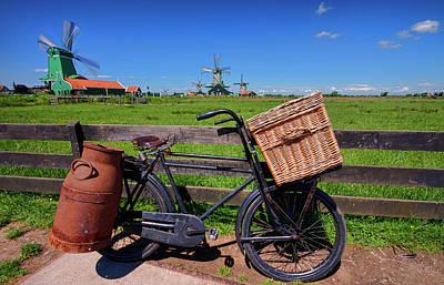 Bicycle At Zaanse Schans Poster