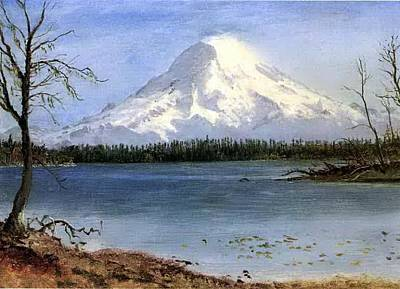 Bierstadt Albert Lake In The Poster