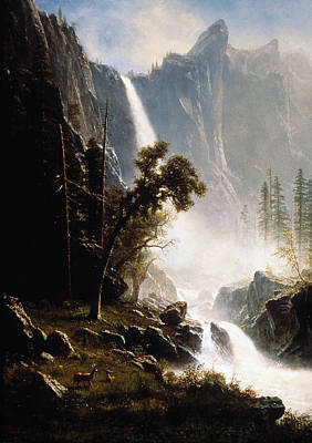 Bierstadt: Yosemite, 1870s Poster by Granger