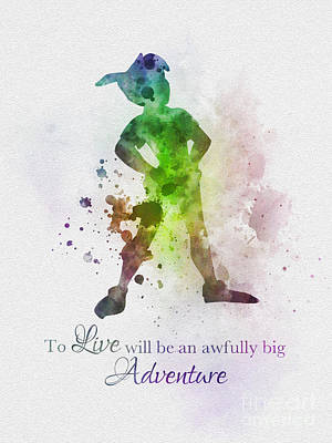 Big Adventure Poster by Rebecca Jenkins