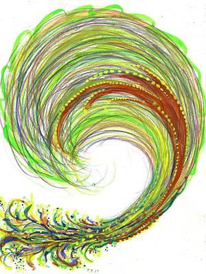 Big Bang - The Birth Of My Art #107 Poster by Rainbow Artist Orlando L aka Kevin Orlando Lau