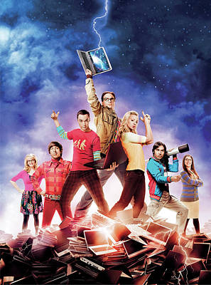 Big Bang Theory 2007 Poster by Unknown