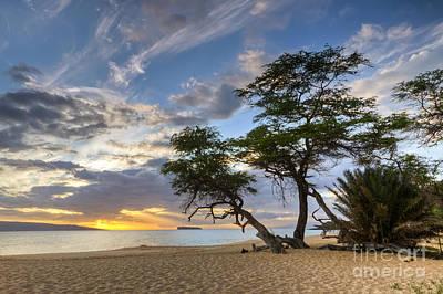 Big Beach Maui Hawaii Sunset Poster by Dustin K Ryan